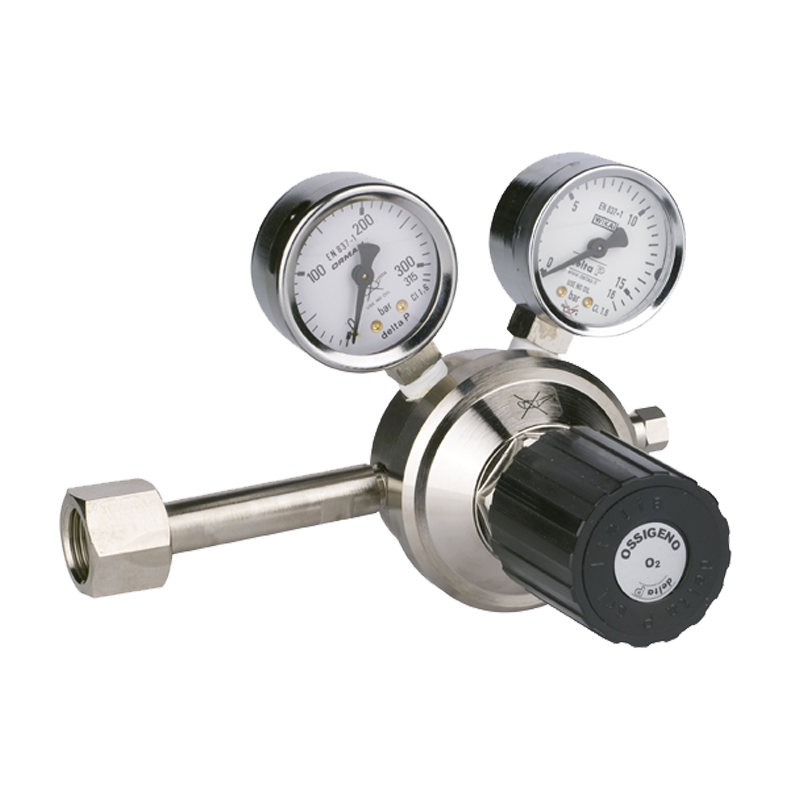 First Stage Pressure Regulators for Pure Gases | Delta P